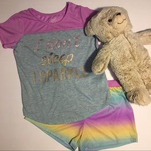 Disney Pajamas - Girls Nightgown Pajamas Set BUNDLE Disney's Brave